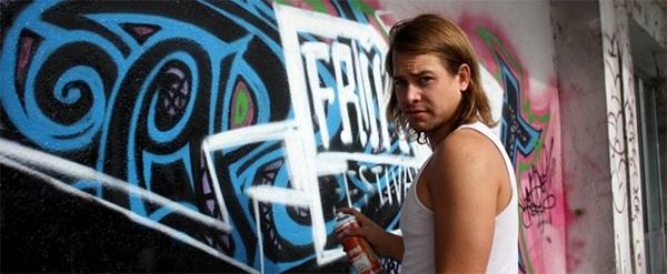 Уличен уметник Ким Кестер